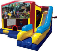 Zombie Town Combo Bounce House