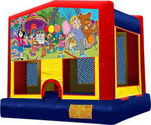 Carnival Theme Bouncy House