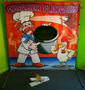 Chicken Flinger Carnival Game