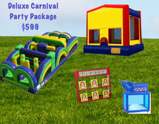 Deluxe Carnival Party Package