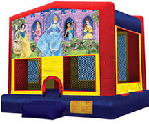 Disney Princess Bouncy House-Licensed