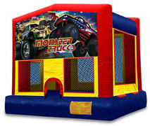 Monster Truck Theme Bouncy House