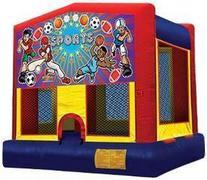 Sports Theme Bouncy House