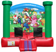 A Super Mario Bounce House