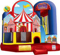 Carnival Party Bounce with Slide