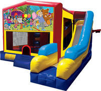 Carnival Super Bounce n Slide Combo