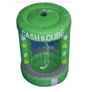 Inflatable Cash Cube-Money Machine