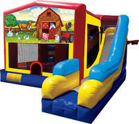 Barnyard Super Bounce-n-Slide