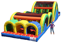 Triple Threat Obstacle Course Rental