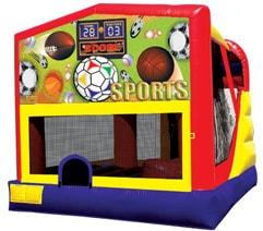 4n1 Sports Combo Bounce House