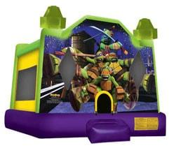 Ninja Turtles Bouncy House