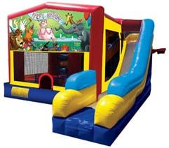 7n1 Birthday Combo Bouncy House