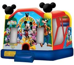 Mickey Park Combo Bounce House