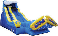 21ft WipeOut Water Slide