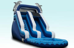 16' Dolphin Escape Water Slide Rental