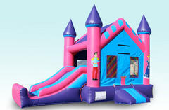 4n1 Princess Combo Bounce House