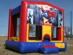 Spiderman Bounce House Party Package