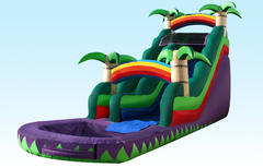 24ft Purple Crush Water Slide Rental