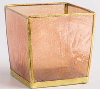 Blush Capiz Tealight Holder