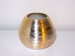 Spun Copper Vase