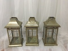 Antique Gold Lanterns