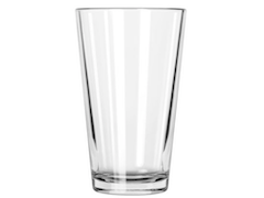 16 oz Drinking Glass