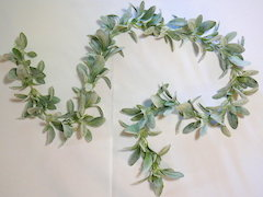 Dusty Miller Garland