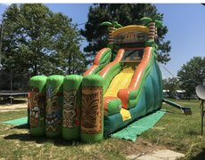 20ft  Tiki Island Slide