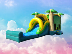 Tropical Combo Waterslide /Dry