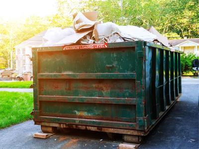 Junk Removal Dumpster Rental in Franklin