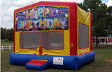 Happy Birthday 15x15 Bouncer