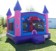 Butterfly Castle Bounce House