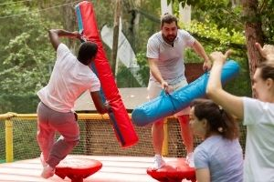 Timberwood Park Inflatable Game rentals