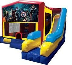 Shavano Park combination bouncer and slide rentals