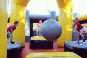 Bulverde Fun party games for rent