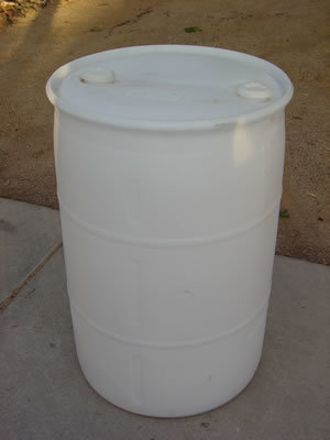 55 Gal. Water Barrels (Water Not Included)