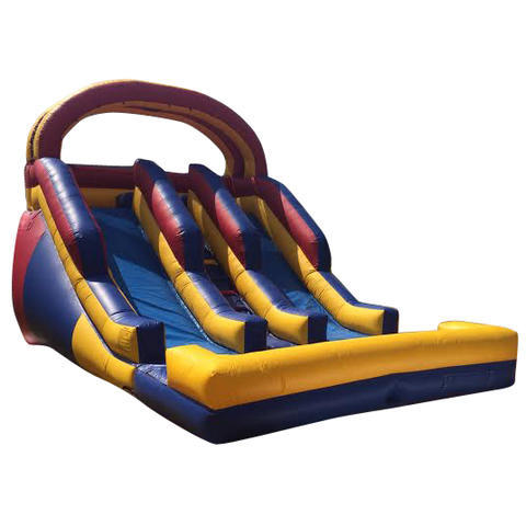 16' Dual Lane High Falls Water Slide