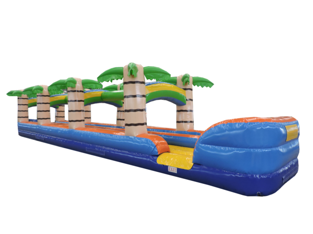 28' Tropical Paradise Dual Lane Slip n Slide