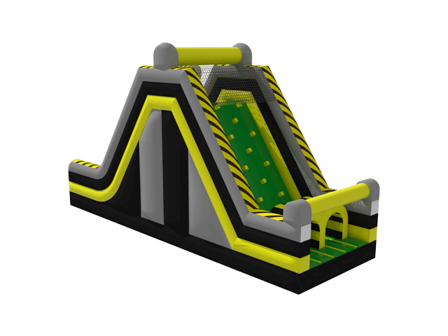 Nuclear Dual Lane Rock Climb Slide (D)