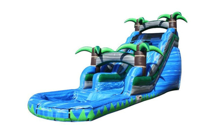 20' Blue Crush Water Slide