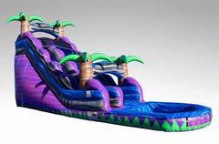 20' Purple Rush Water Slide