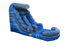 16' Blue Laguna Water Slide