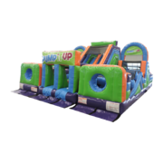 Pump It Up Obstacle Course