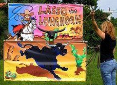 Lasso the Longhorn Carnival Game
