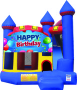 Happy Birthday Castle Combo (Dry Only)