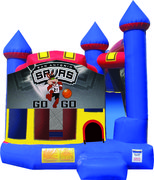 San Antonio Spurs Castle Combo (Dry Only)