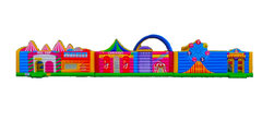 Extra Large 3 Piece Circus Fun House Obstacle Course