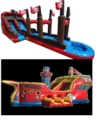 Pirate Special - Pirate-Ship Jump/Slide and Pirate Slip-N-Dip