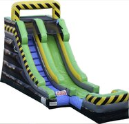 WET 15 FT Caution Water Slide