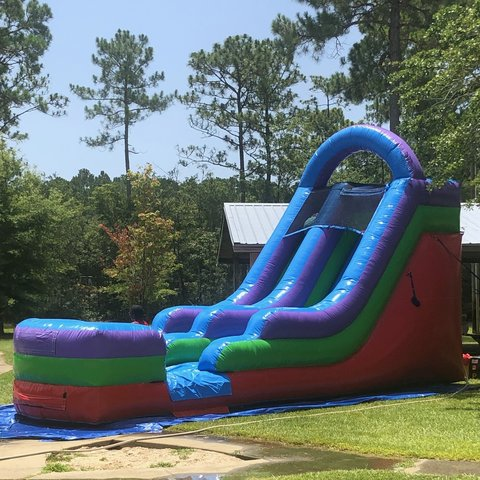 16Ft Retro Water Slide Rental